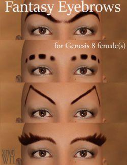 Fantasy Eyebrows for Genesis 8 Female(s)