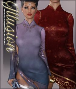 Illusion for dForce Suspense Outfit