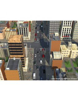 Night and Day City for Daz Studio