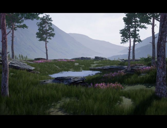 Outdoor Environment Creation in the Unreal Engine