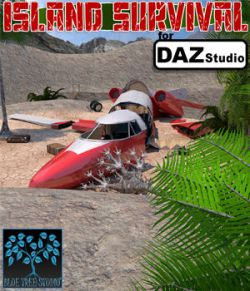 Island Survival for Daz Studio