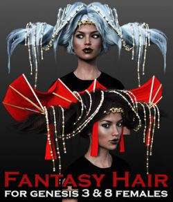 Fantasy Hair for G3 females and G8 females