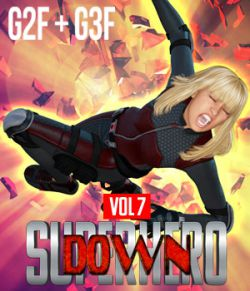 SuperHero Down for G2F and G3F Volume 7