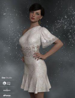 dForce Felicity Ann Dress for Genesis 8 Female(s)