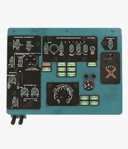 Mi-8MT Mi-17MT Left Overhead Panels Board Russian 2- Extended License