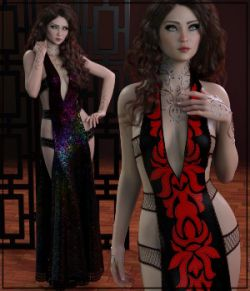 7th Ave: dforce- Chantress Gown for G8F