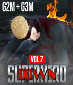 SuperHero Down for G2M and G3M Volume 7