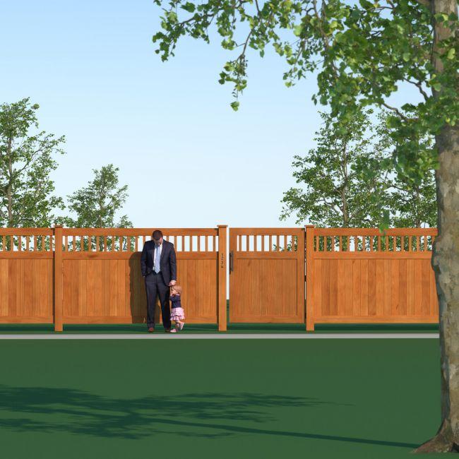 Modern Architecture Walls - Kit1