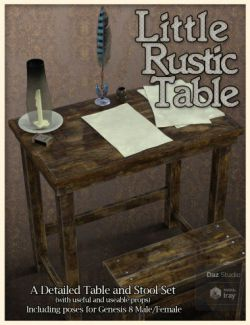 Little Rustic Table
