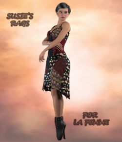 Susies Rags for La Femme