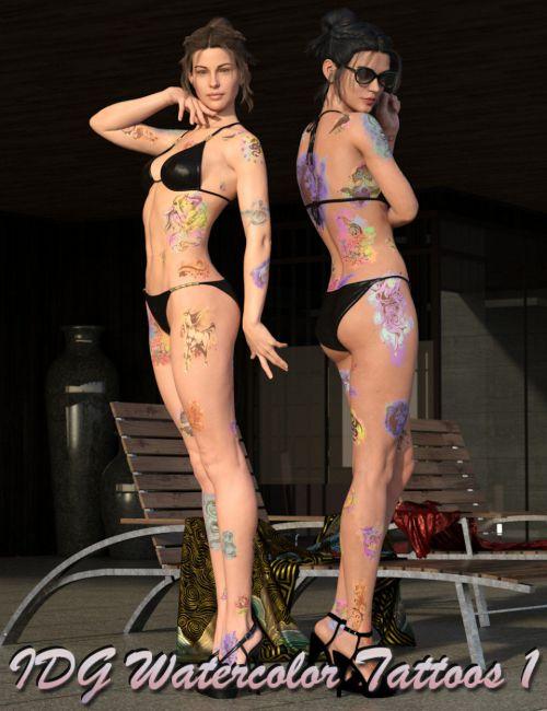 IDG Watercolor Tattoos 1