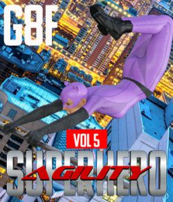 SuperHero Agility for G8F Volume 5