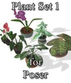 Plants Set 1 for Poser