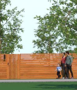 Modern Architecture Walls- Kit 2