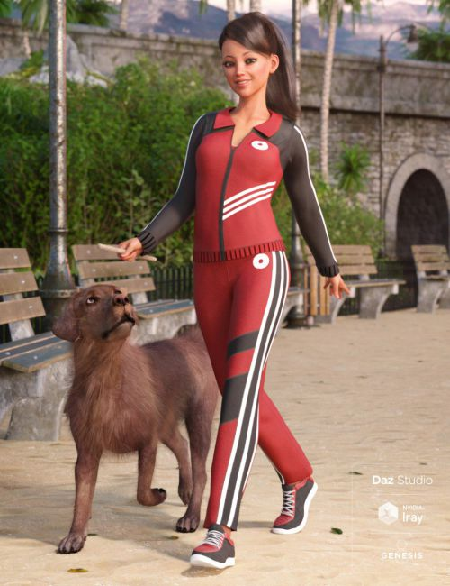 Morning Walk Outfit for Genesis 8 Female(s)