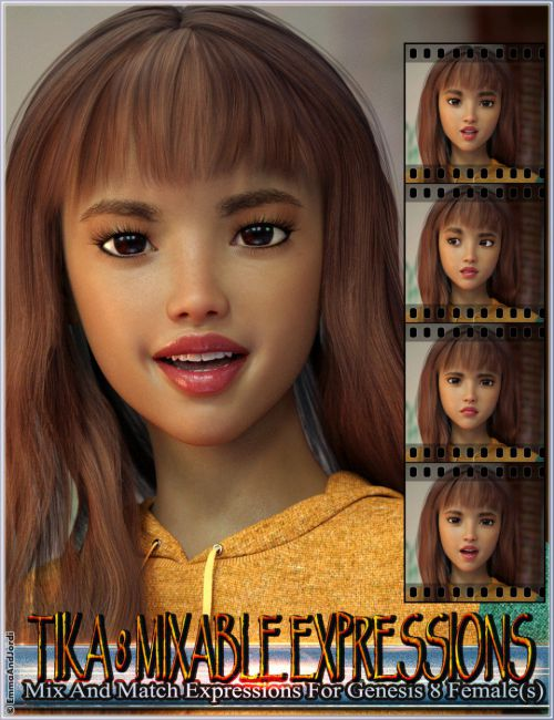 Mixable Expressions for Tika 8 and Genesis 8 Female(s)