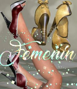 DA-Femenin for PeepToe Shoes for La Femme