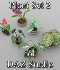 Plants Set 1 for DAZ Studio