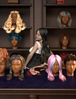RSSY Hair Converter from Genesis to Genesis 8 Female