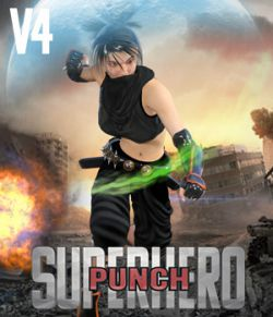 SuperHero Punch for V4 Volume 1