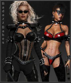 Badazz Babes Bodyglove Set