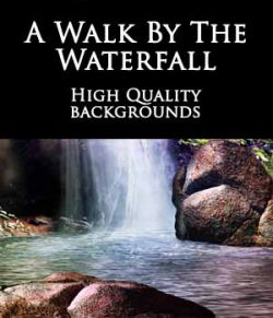 A Walk By The Waterfall Backgrounds