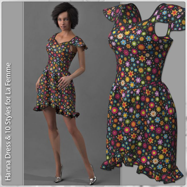 Hanna Dress & 10 Styles for La Femme