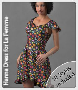 Hanna Dress & 10 Styles for La Femme