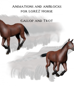 Animations and aniBlocks for LoRez Horse