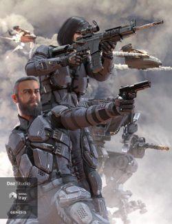 ATLAS Armored Suit for Genesis 8