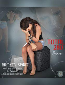iG Broken Spirit Poses for Genesis 8 Female