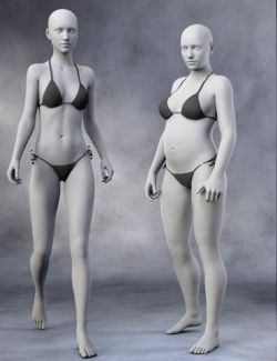 Body Morph Kit for Genesis 3 Female and Merchant Resource