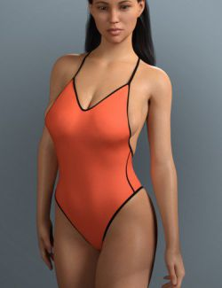 RealFit One Piece for Genesis 8 Females