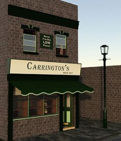 Little Victorian Shop For Daz Studio Iray