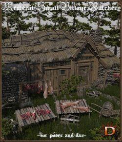 Medieval Small Village Butchery