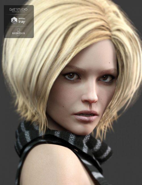Mysti HD for Genesis 8 Female