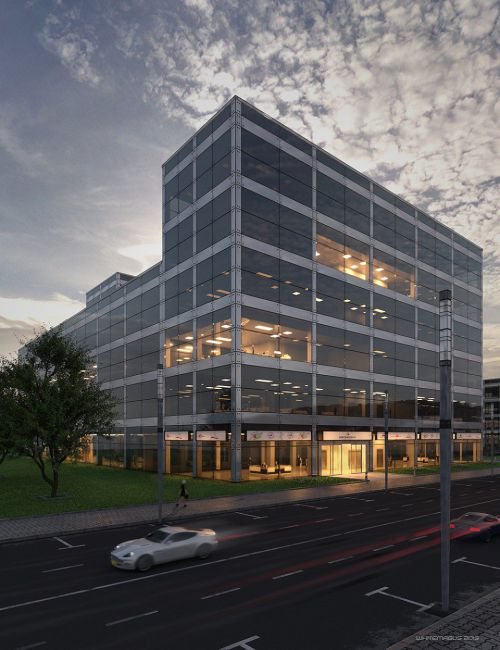 Contemporary Office Building Revitalized
