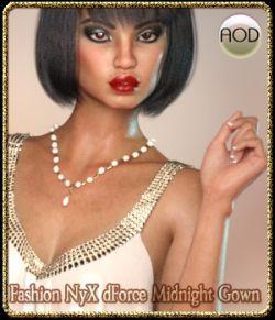 Fashion NyX dForce Midnight Gown G3/G8