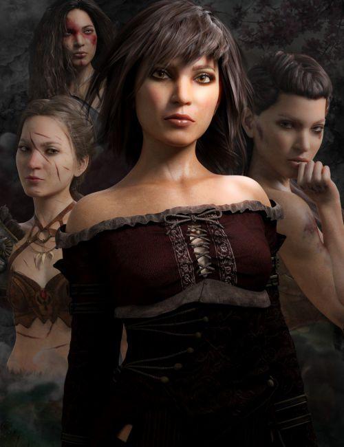 Bramble HD for Genesis 3 & 8 Female