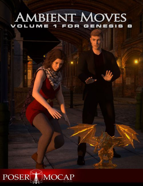 Ambient Moves Volume 1 For Genesis 8