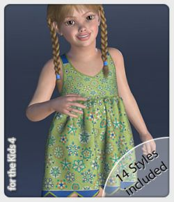 Fiona Dress and 14 Styles for the Kids 4