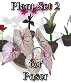 Plants Set 2 for Poser