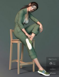 X-Fashion Uniform 02 for Genesis 8 Female(s)