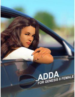 Adda HD for Genesis 8 Female