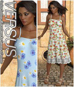 VERSUS - Ombre Fashion dForce Dress for Genesis 8 Females