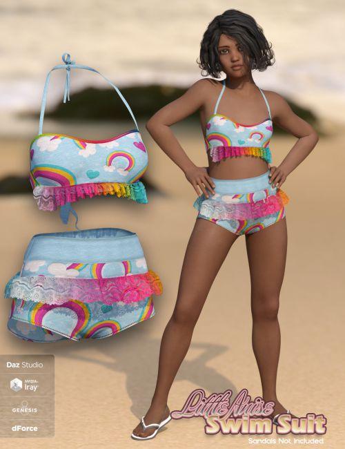 SublimelyVexed Little Anise Swimsuit G8F