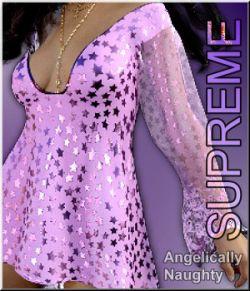 Supreme- Angelically Naughty Dress