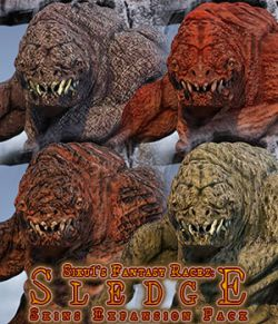 Sledge Skins Expansion Pack for Daz Studio