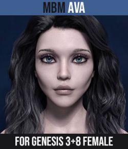 MbM Ava for Genesis 3 & 8 Female