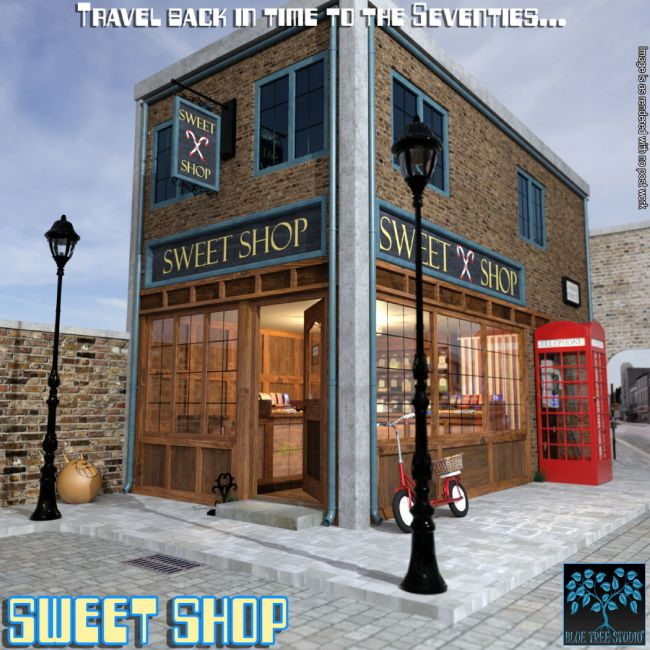 Sweet Shop for Poser